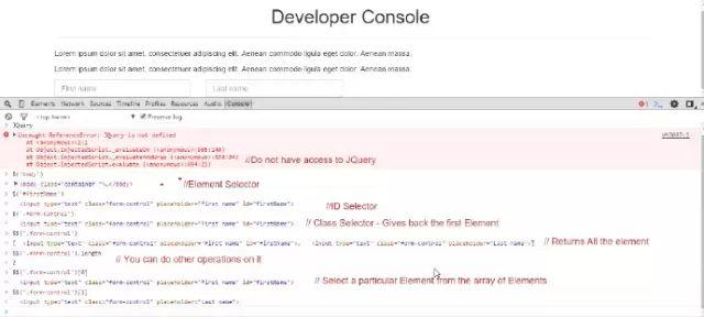 Chrome 开发者控制台中,你可能意想不到的功能