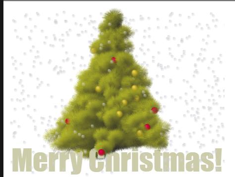 几个圣诞树JS代码
