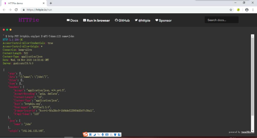 HTTP接口调试利器!4.8万Star的HTTP命令行客户端!