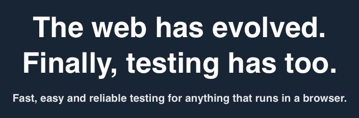 2.6 万 Star!Web 已进化,前端测试工具也该变了